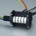 الكهربائية الدوارة 380v رنين الرياح التوربينات زلة 30a 250 5 دوائر في كل دورة في الدقيقة