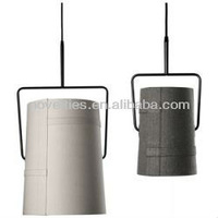 Wholesale fabric pendant light factory price