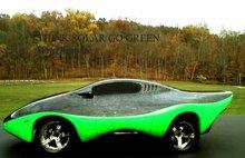 Solar Electric Sport Coupe car
