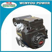 Top Seller!!! POWER-GEN Air Cooled Diesel 22HP/Gasoline 20HP V Twin 2 Cylinder Engine