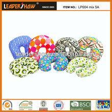 Polystyrene beads U pillow viscoelastic foam pillow