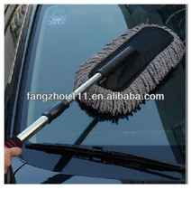 microfiber separable car brush with extensible handle