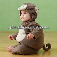 monkey fullbody costumes, new arrival baby plush animal costumes