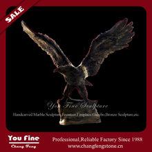 Hot sale brass eagle statue