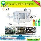 PLC automatic washing filling sealing machine for apple juice