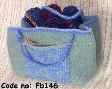 Felt Knitting Stuff Bag