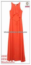 girl latest design Leisure/casual daily wear long maxi dress in bulk