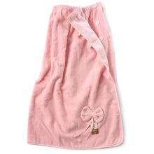 100% cotton soft body feel wholesale bath skirt bathrobe(sq014w)