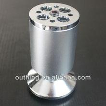 Meilv hardware E1105 Fancy Aluminum+Zinc Alloy Furniture Cabinet Legs