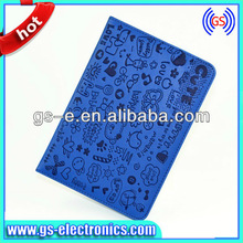 for iPad Mini Full smart leather case with cartoon patterns