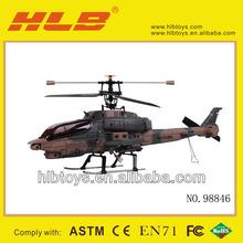 2.4g 4ch apache helicóptero de controle remoto
