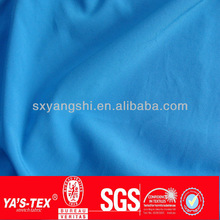 Good stretch blue light weight 4 way stretch poly spandex fabric for woman dress