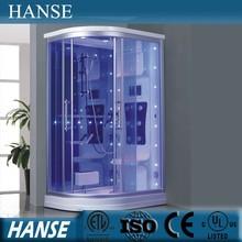 HS-SR010 low tray one person seat massage steam european shower cabin
