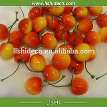 Decorative artificial fruit cherry