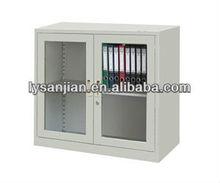 hanging cabinet with glass door,rolling door cabinet