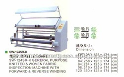 Gereral Purpose Knitted & Woven Fabric Inspection Machine With Forward & Reverse Winding.