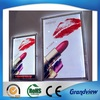 advertising led crystal acrylic poster light frame