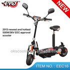 2013 electric folding adult scooter battery EEC 500w