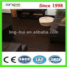 Pure Green CE Dark Walnut Strand Woven Bamboo Flooring