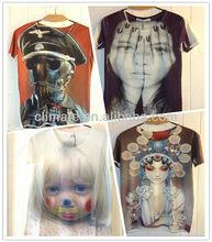 Men's 3D T-Shirt,Punk Three D Short Sleeve Tee Shirt,Plus Size Free Shipping,xxxl,zero shirts,wholesale rock band t-shirts,xl