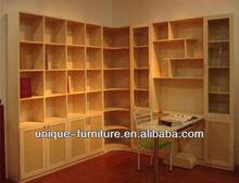 Luxury book shelf ,laminate shelf cabinet,home book shelf