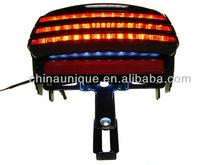 Integrated LED Tri-Bar fender Tail Light for 2006-2013 Harley Davidson