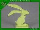 natural decorative Easter rabbit