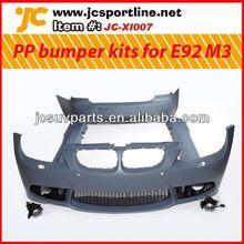 08-11 PP body kit for BMW E92 M3 body styling professional body piercing kit
