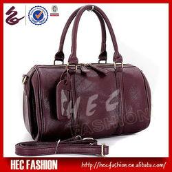 2013 Trendy Fashion Leather Travel Bag Ladies Handbag Trolley Bag