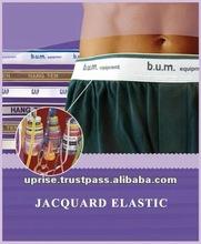 Jacquard Elastic Waistband/Colored Waistband Elastic