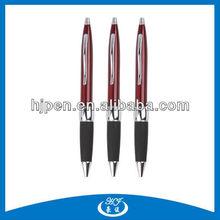 Comfort Grip Uni Design Metal Click Ball Pen