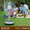 rechargeable table fan/rechargeable fan factory/best table fans