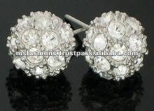 Ball Design Earring Crystal Ball Earring Fashion Earring Costume Jewellery Ball Jewelry-ER389(L)