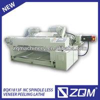 ZQK1813-F CNC veneer rotary peeling lathe/woodworking veneer peelling lathe