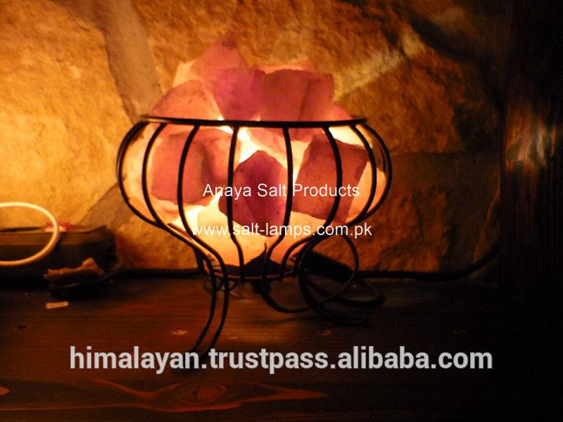 Salt Lamp Feng Shui Placement : Metal Salt Lamp Basket/feng Shui Salt Lamps/iron Basket Salt Lamp/metal Fire Basket - Buy Salt ...