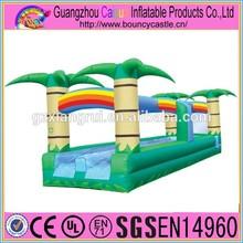 Inflatable slip and slide/inflatable slip n slide