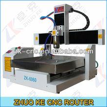 Desktop CNC Engraving Machine With Tool Sensor ZK-6060