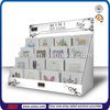 TSD-C256 factory supply cardboard gift card counter display,gift card stand,greeting card counter top display stand