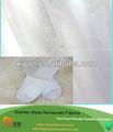 no tejido pp de materiales en la fabricación de zapatillas