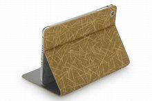 2013 Top quality canvas case for ipad mini ,Fashion bookstyle canvas case for ipad mini