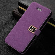 NEW Luxury Flip PU Leather Case Cover For apple iPhone5 4/4s