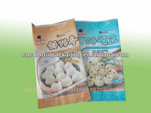 Frozen damplings Packaging bag/colored freezer bag/packaging for bags