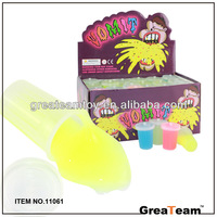 funny plastic small glow in dark vomit slime
