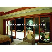 finely processed aluminum clad wooden Balcony Door