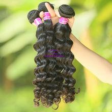 100% unprocesss wholesale cheap virgin Malaysian curly hair weft