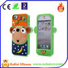 High quality custom 3D Animal design silicone case for phone
