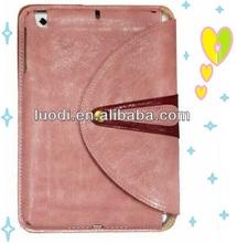 2014 Unique design wallet leather flip universal case cover for apple ipad mini case