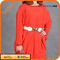 venda quente vermelho vestidos de noiva com trens de comprimento