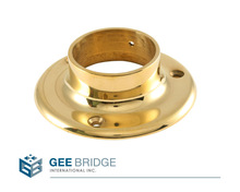 1001032 Solid Brass Floor Flange