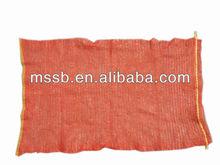 mesh bags , knitted plastic mesh bag orange mesh bag ,cheap mesh bag